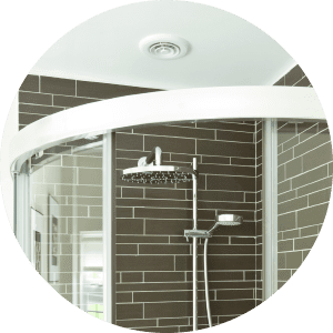 Shower Ventilation Wellington bathroom ventilation - Shower Ventilation Circle - Bathroom Ventilation