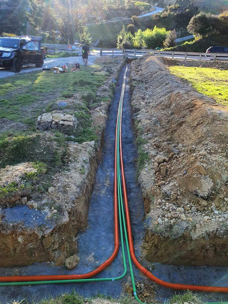 Mains Cabling mains cabling - Mains Cable Dug Up - Mains Cabling