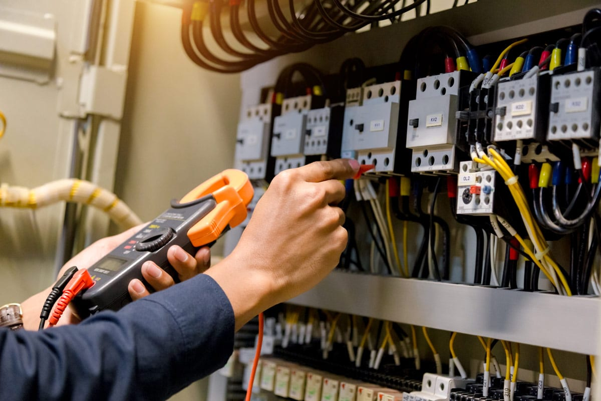 ecodan - Switchboard being serviced - Switchboards